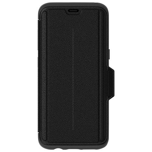premium selection f5706 a5259 OtterBox Strada Folio Case for Galaxy S8 - Onyx