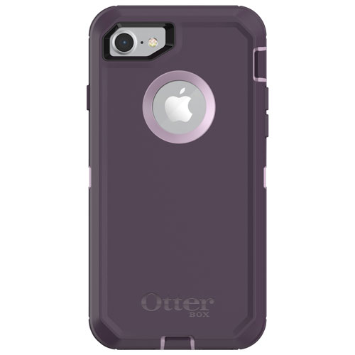 Otterbox Defender Fitted Hard Shell Case For Iphone 8 7 Purple Nebula Best Buy Canada