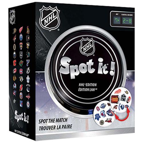 Jeu de cartes Spot It! édition NHL
