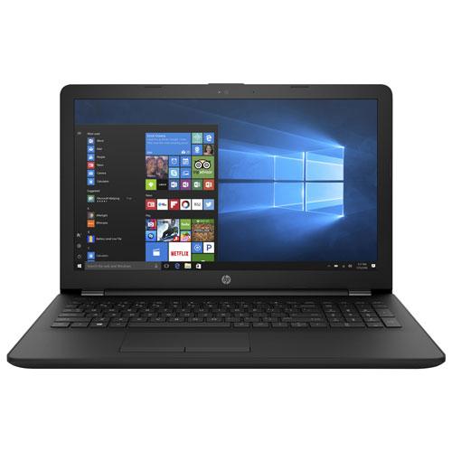 "HP 15.6"" Laptop - Jet Black (AMD A10-9620P/1TB HDD/8 GB RAM/Windows 10)"