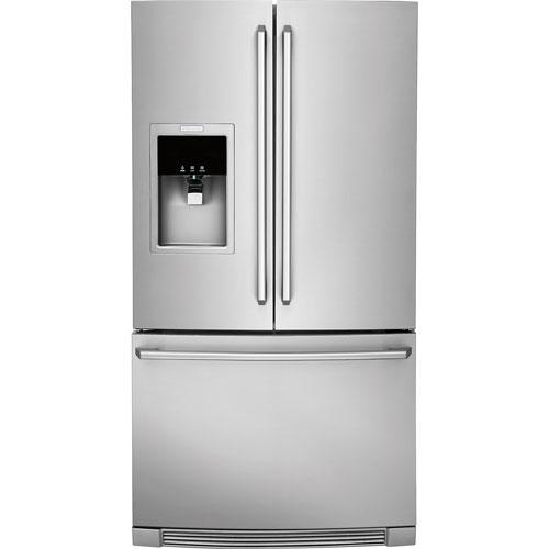"Electrolux 36"" 21.5 Cu. Ft. Counter-Depth Bottom Freezer Refrigerator - Stainless Steel"
