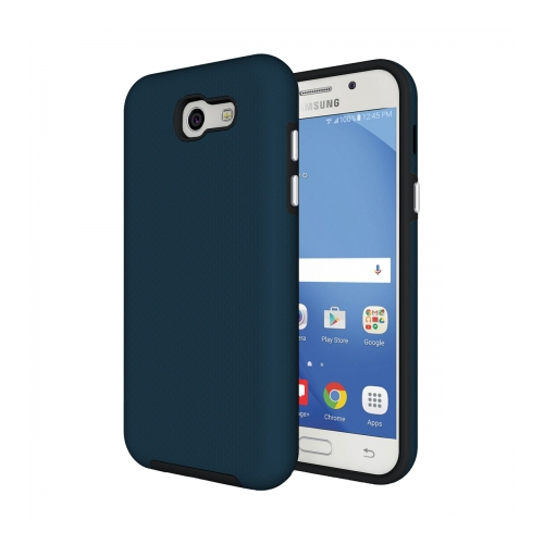 Axessorize Fitted Hard Shell Case for Samsung Galaxy J3 Prime - Blue