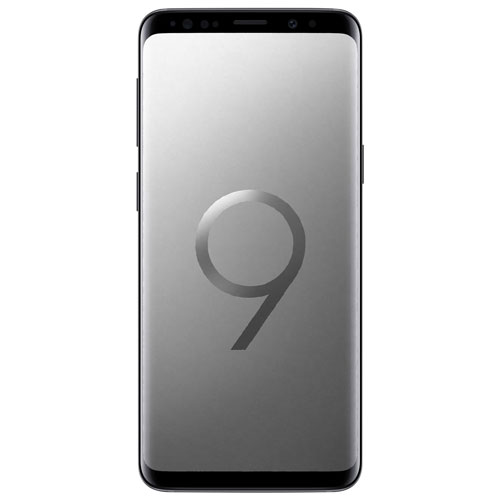 Rogers Samsung Galaxy S9 - Titanium Grey - Select 2 Year Agreement