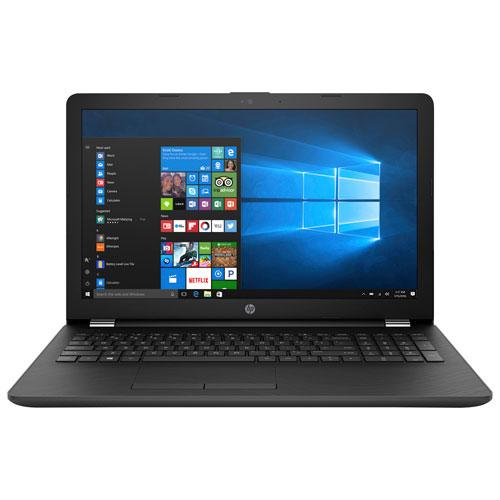 Portable écran tactile 15,6 po HP - Gris (A12-9720P AMD/DD 1 To/RAM 8 Go/Radeon R7 AMD/Win 10) - BO