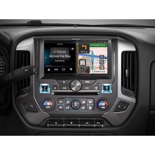 Alpine X110 Slv 10 Inch In Dash Restyle System For Chevrolet