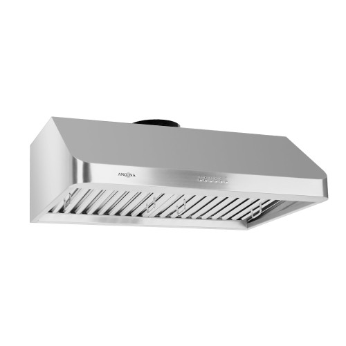 61835ae22a1 Under Cabinet Range Hood in Stainless Steel with LED Lights   Range Hoods -  Best Buy Canada