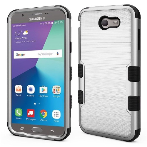 Insten Fitted Hard Shell Case - Silver;Sky