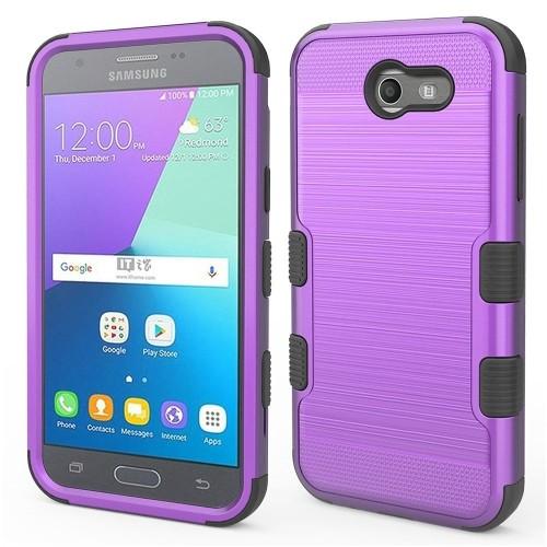 Insten Hard Case For Samsung Galaxy Amp Prime 2/Express Prime 2/J3 (2017)/J3 Eclipse, Purple
