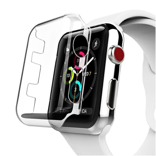 quality design a7864 fa7af Insten Hard Plastic Case For Apple Watch Series 3 38mm, Clear
