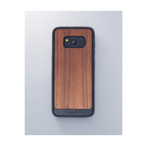 hot sale online 53953 0f012 Mous Fitted Hard Shell Case for Samsung Galaxy S8Plus - Walnut/Black