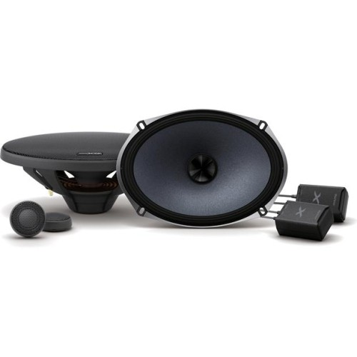 Alpine X-S69C X-Series 6x9 Inch Component 2-Way Speakers