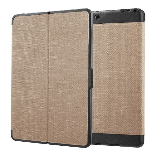 "Insten Flip Wallet Leather Fabric Cover Case For Apple iPad Pro 10.5"", Gold/Black"