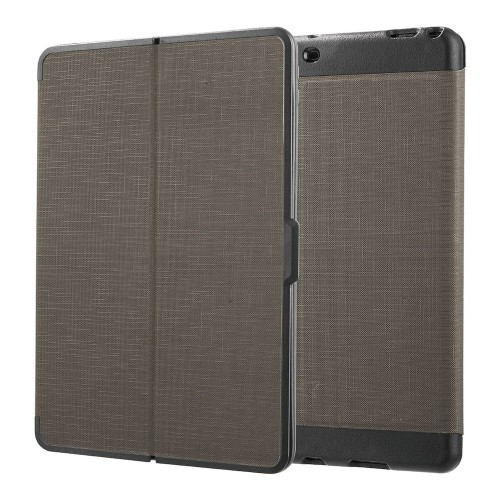 "Insten Flip Wallet Leather Fabric Cover Case For Apple iPad Pro 10.5"", Gray/Black"