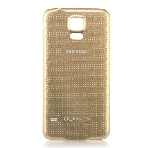 wholesale dealer e1fa3 a0d26 Samsung Galaxy S5 Battery Door, Gold - Open Box