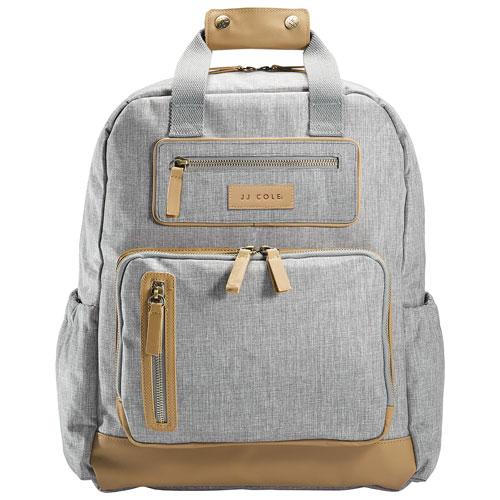 JJ Cole Papago Pack Backpack Diaper Bag - Light Grey