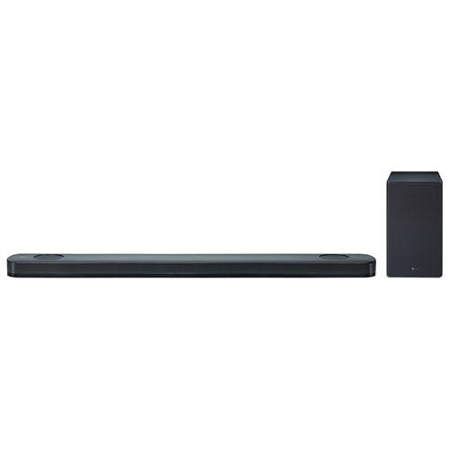 LG SK9Y 500-Watt 5.1.2 Channel Sound Bar with Wireless ...