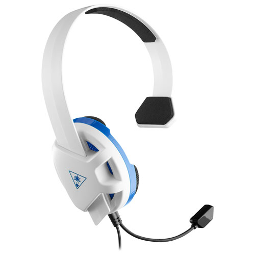 Turtle Beach Recon Chat Over-Ear Gaming Headset for PlayStation 4 - White TBS-3346-02