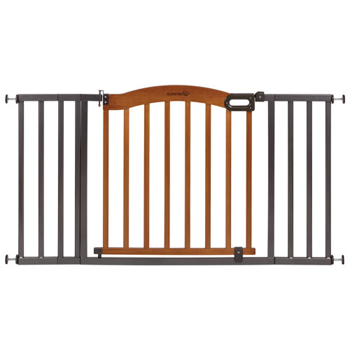 Summer Infant Extra Wide Pressure Mounted Freestanding Safety Gate