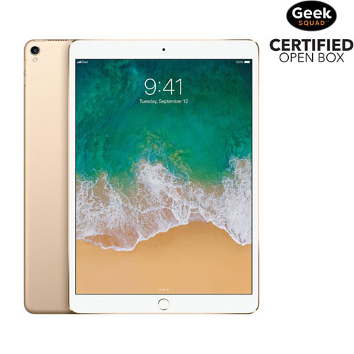 "Apple iPad Pro 10.5"" 64GB with Wi-Fi - Gold - Open Box"