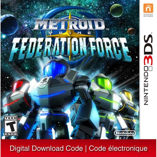 Metroid Prime: Federation Force - Digital Download