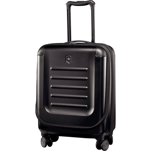 """Victorinox Spectra 22"""" Hard Side Expandable Carry-On Luggage - Black"""