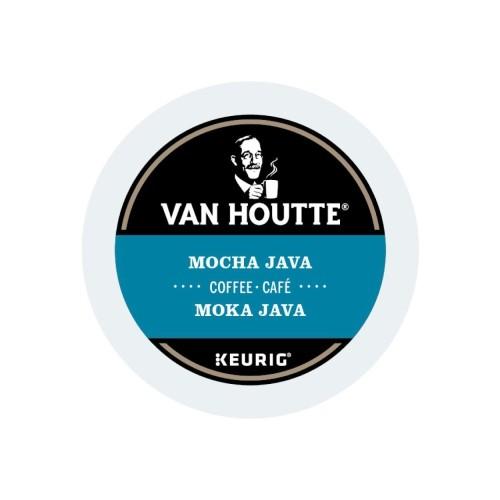Van Houtte Mocha Java Light Roast Coffee K-Cup, 96 Count