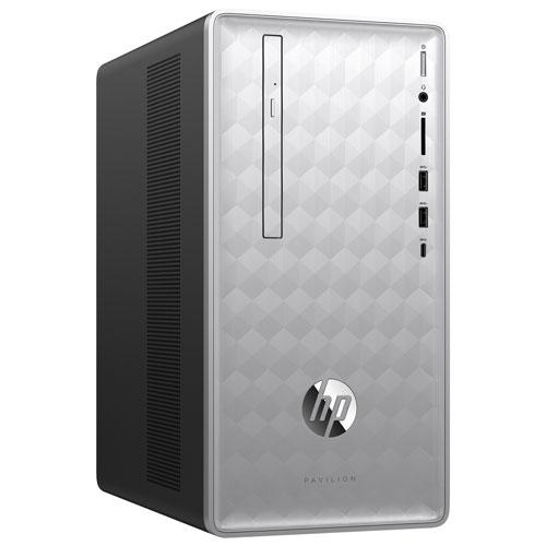 HP Pavilion Desktop PC (AMD A12-9800 / 1TB HDD / 16GB RAM / AMD Radeon R7 / Windows 10) - English