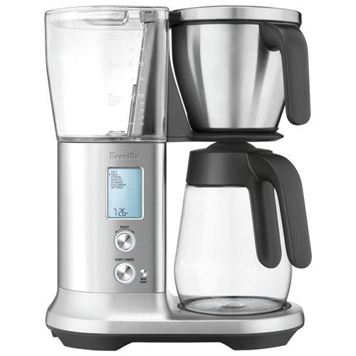 Breville Precision Brewer Automatic Coffee Maker - 12-Cup - Silver
