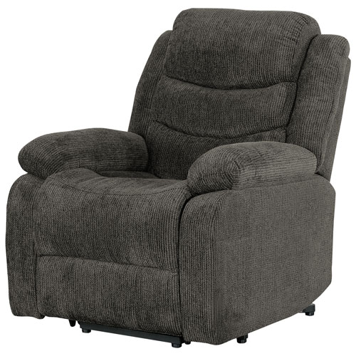 Porter Fabric Power Lift Recliner Chair Grey Recliner Chairs
