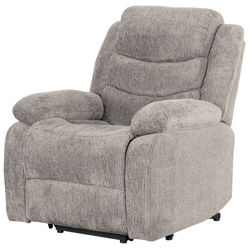 Porter Fabric Power Lift Recliner Chair Cream Recliner Chairs