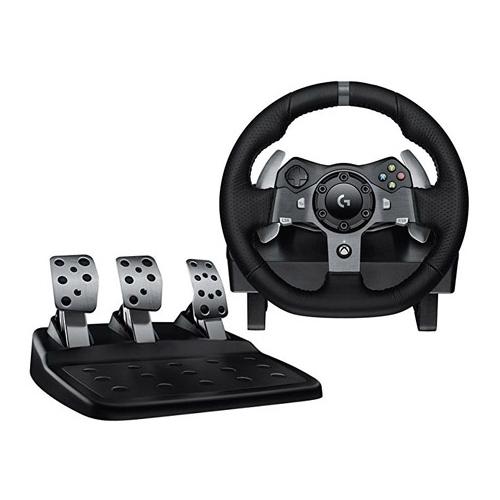 Logitech G920 Driving Force Racing Wheel for Xbox/PC – Dark - Refurbished