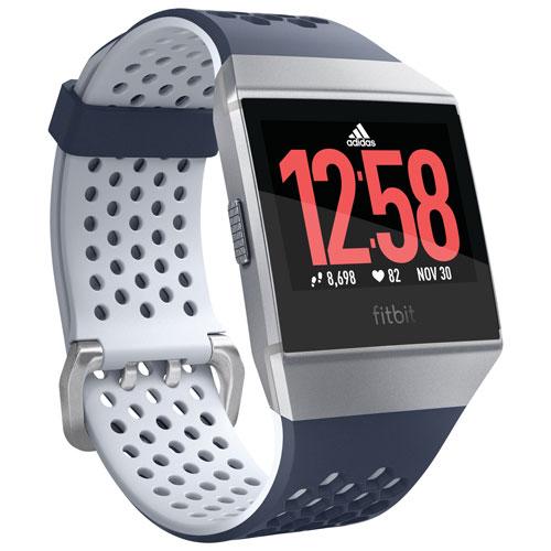 Fitbit Ionic Adidas edicion SmartWatch con monitor de ritmo cardiaco de tinta