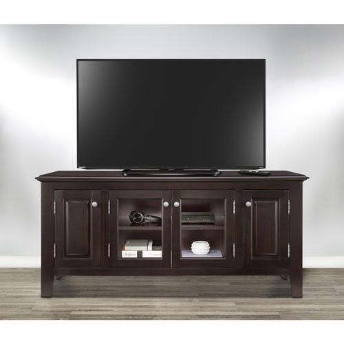 Insignia 60 Tv Stand Dark Espresso Tv Stands Best Buy Canada