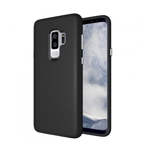 hot sale online a4148 1e2dd Axessorize Fitted Hard Shell Case for Samsung Galaxy S9 Plus - Black