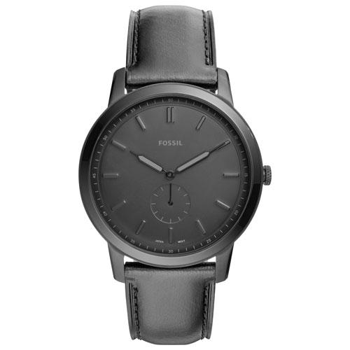 Fossil Minimalist 44mm Men S Casual Watch Black Men S Watches