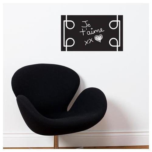 black liana, chalkboard wall decal : wallpaper & wall decals - best