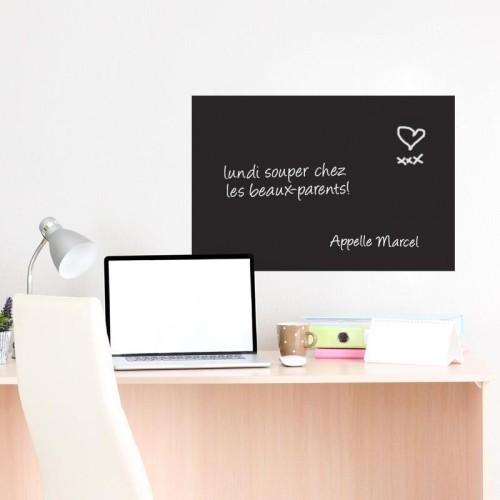 tableau noir rectangulaire noir papier peint et autocollants muraux best buy canada. Black Bedroom Furniture Sets. Home Design Ideas