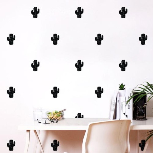cactus wall decal : wallpaper & wall decals - best buy canada