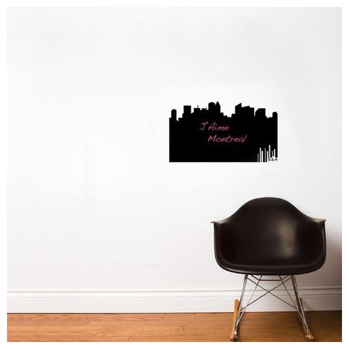 panorama 514, chalkboard wall decal : wallpaper & wall decals - best