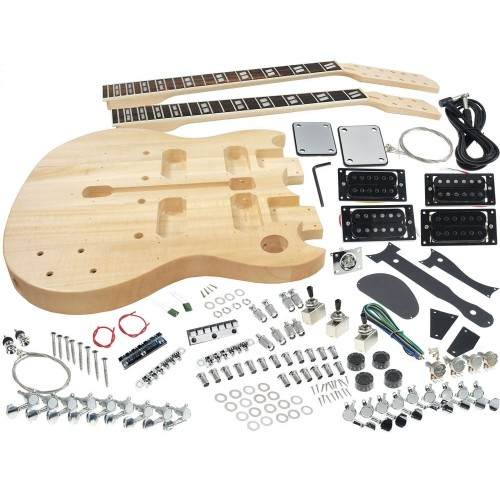solo sg style double neck diy guitar kit electric guitars best rh bestbuy ca