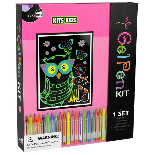 183a23203 Spice Box - 06710 | Kits 4 Kids: Gel Pens Kit : Crayons, Pencils ...
