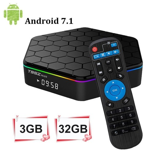 RoastedCanuck T95Z Plus Android 7 1 TV Box 3GB RAM/32GB ROM Octa Core  Amlogic S912 TV Box support 4K