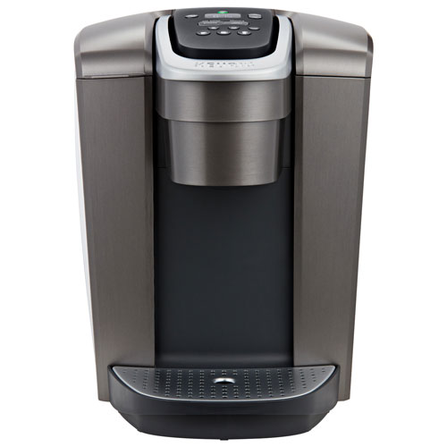 Keurig K Elite Single Serve Coffee Maker Brushed Slate Single