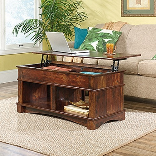 Sauder Living Room Lift Top Coffee Table With Hidden Storage. Curado Cherry  Finish. : Coffee Tables   Best Buy Canada