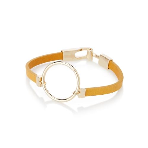Simons Mega-hoop faux-leather bracelet 1qYhBzj
