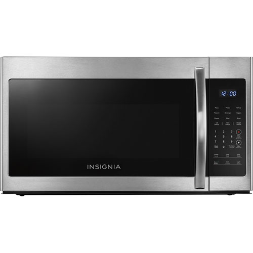 Insignia Over The Range Microwave 16 Cu Ft Stainless Steel