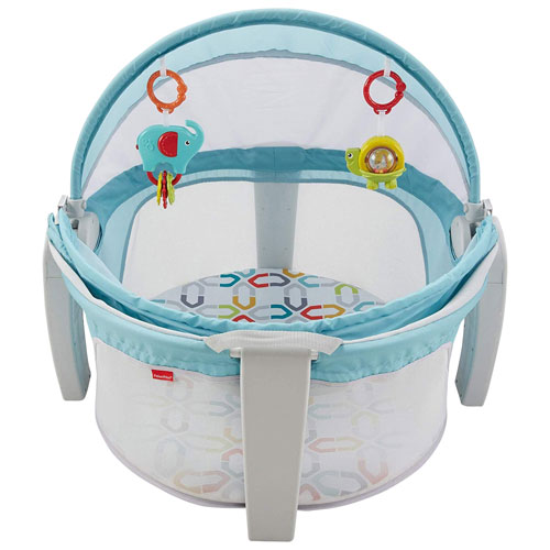 5974e3e722ff Fisher-Price On-The-Go Baby Travel Bed   Baby Travel Beds - Best Buy Canada