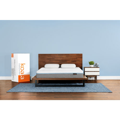 Koala 10 Medium Firm Gel Memory Foam Mattress In A Box Queen