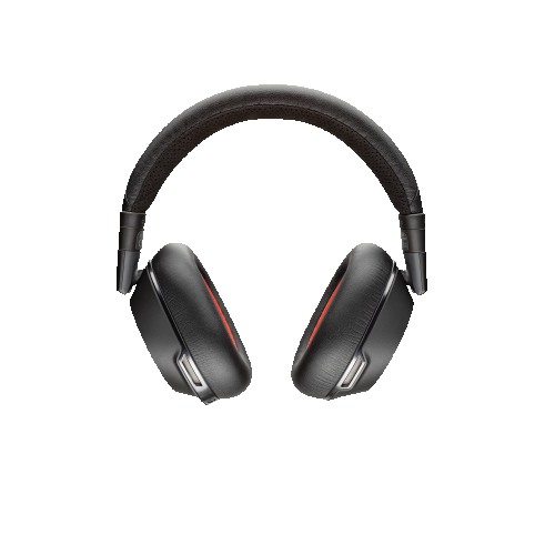 Plantronics Voyager 8200 UC Noise Cancelling Stereo Bluetooth Headphones - Black -