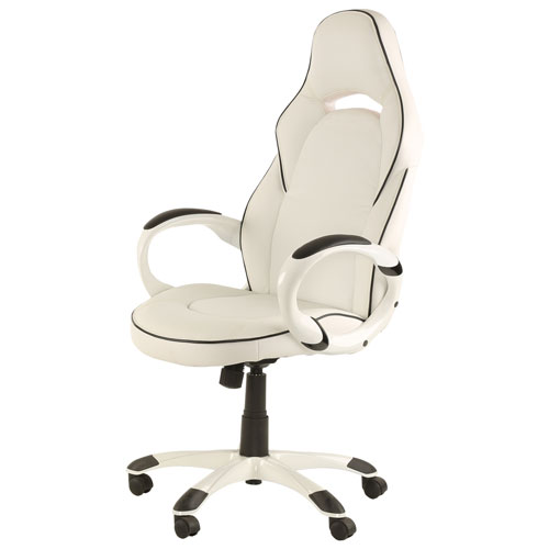 Z Line Designs High Back Executive Chair   White